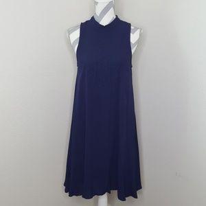 Sugarlips Blue Sleeveless Dress